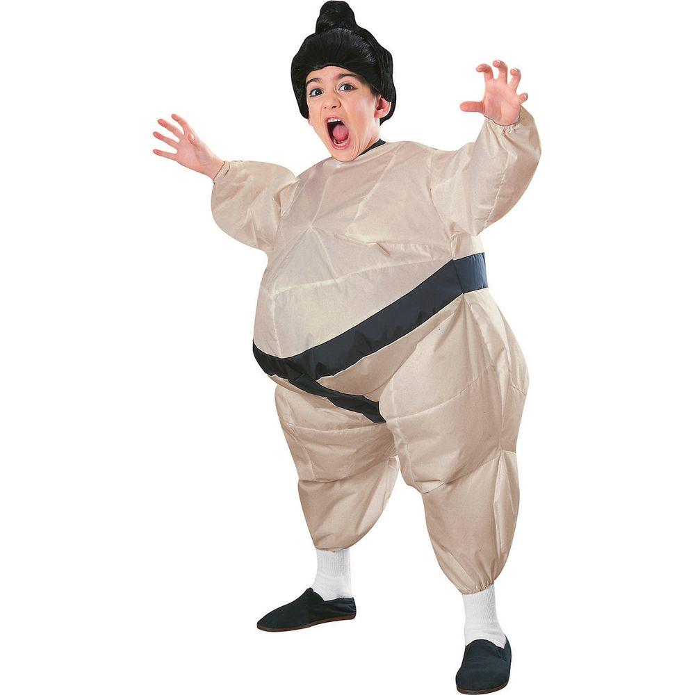 Rubieu0027s Costumes Inflatable Sumo Child Costume  sc 1 st  The Home Depot & Rubieu0027s Costumes Inflatable Sumo Child Costume-38905 - The Home Depot