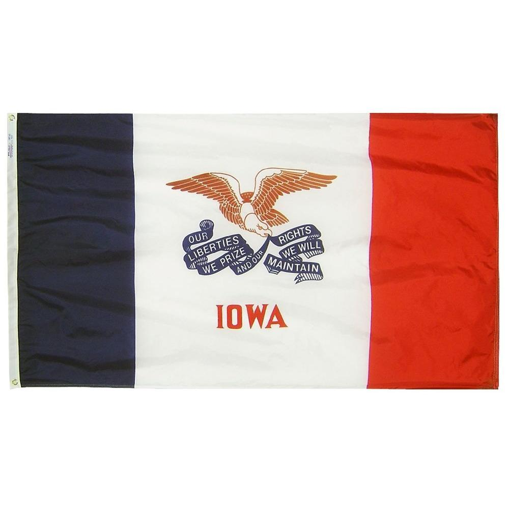 3 ft. x 5 ft. Iowa State Flag