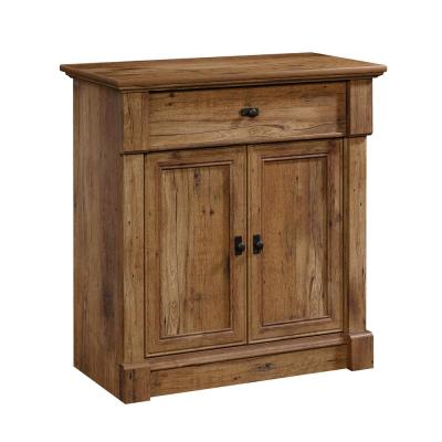 Palladia Vintage Oak Entryway Storage with USB Ports