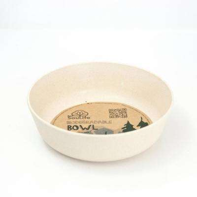 16 oz. Sand Bamboo Bowl (6-Pack)