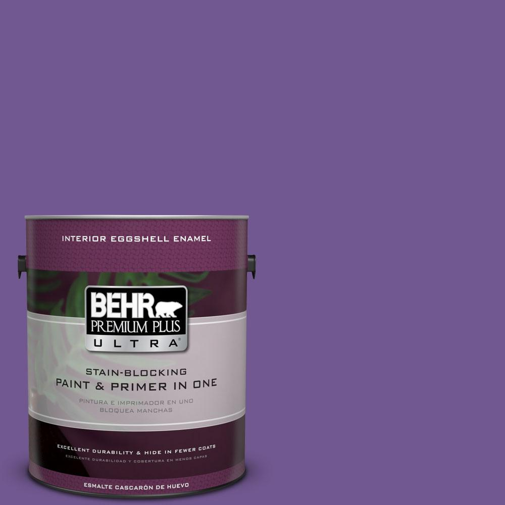 BEHR Premium Plus Ultra 1-gal. #P570-6 Classic Waltz Eggshell Enamel Interior Paint