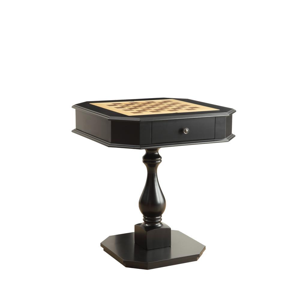 Bishop Black Game Table