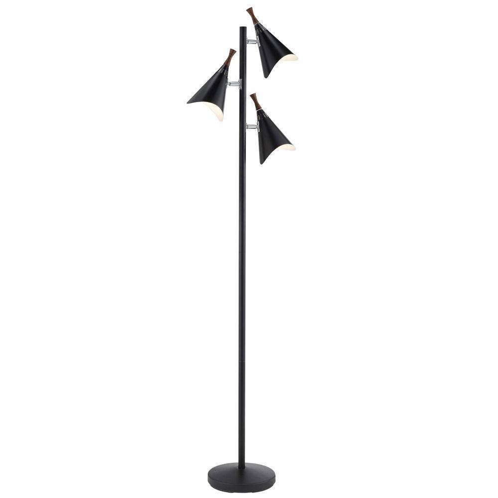 Draper 68 in. Black Tree Lamp