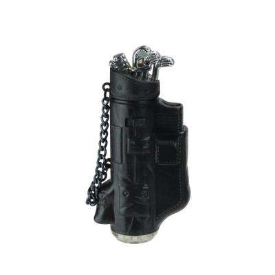 Black and Silver Golf Bag Blow Torch Refillable Versatile Lighter in Gift Box