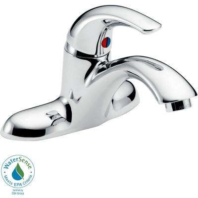 Commercial 4 in. Single-Handle Bathroom Faucet in Chrome