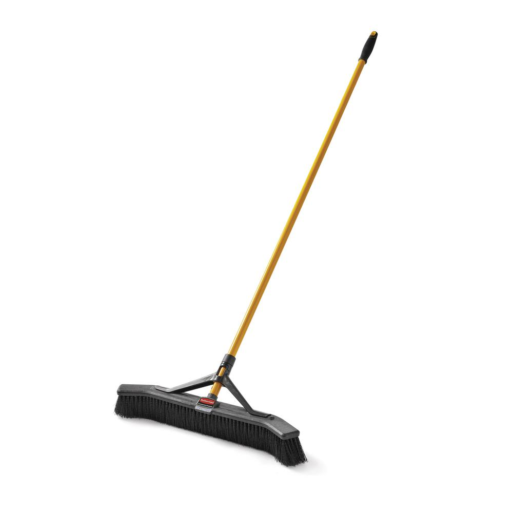 Rubbermaid Commercial Products Maximizer 24 in. Polypropylene Push Broom