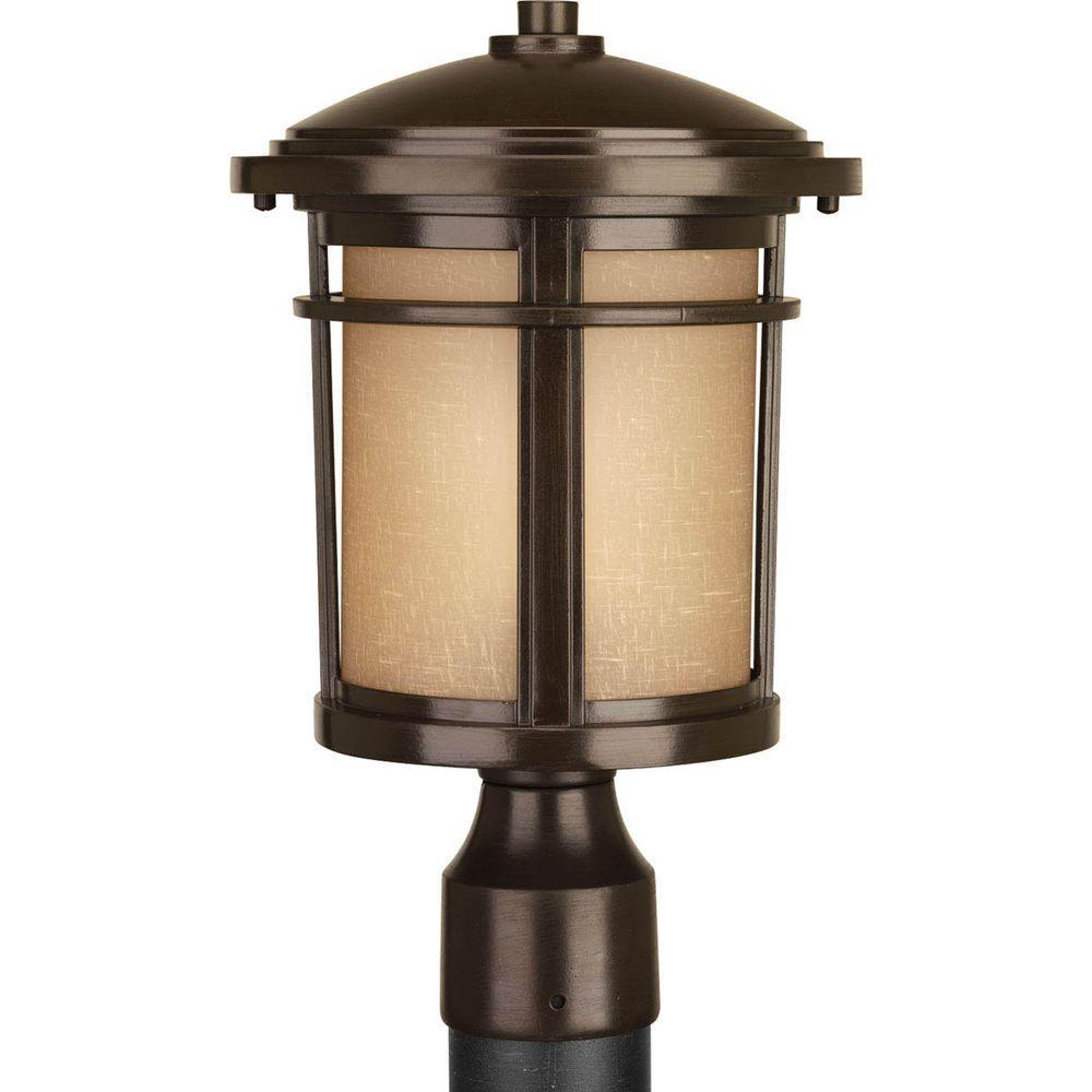 Progress lighting wish collection 1 light antique bronze led progress lighting wish collection 1 light antique bronze led outdoor post lantern sciox Images