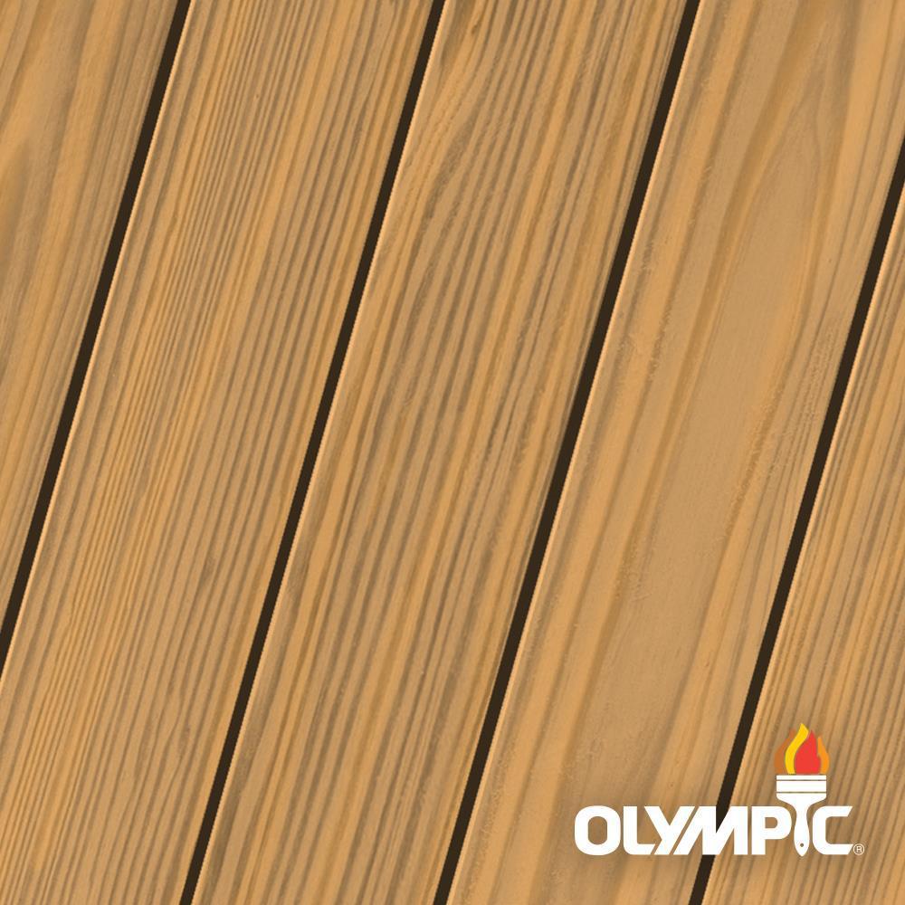 Olympic Maximum 5 gal. Redwood Naturaltone Semi-Transparent Exterior ...