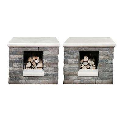 Avondale 37 in. x 39 in. x 25 in. Wood Boxes (2-Pack)
