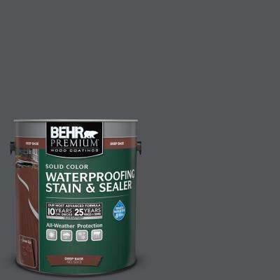 1 gal. #N510-6 Orion Gray Solid Waterproofing Stain and Sealer
