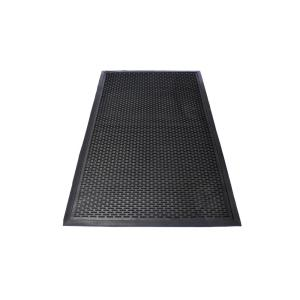 Maze Durable Anti Fatigue 5 ft. x 3 ft. Commercial Rubber Scraper Floor Mat by