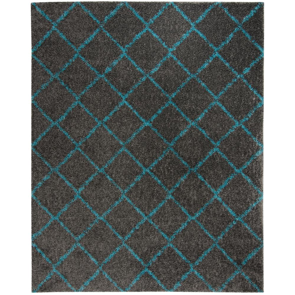 home decorators collection posh shag turquoise 7 ft x 9 ft area rug 7721820330 the home depot. Black Bedroom Furniture Sets. Home Design Ideas