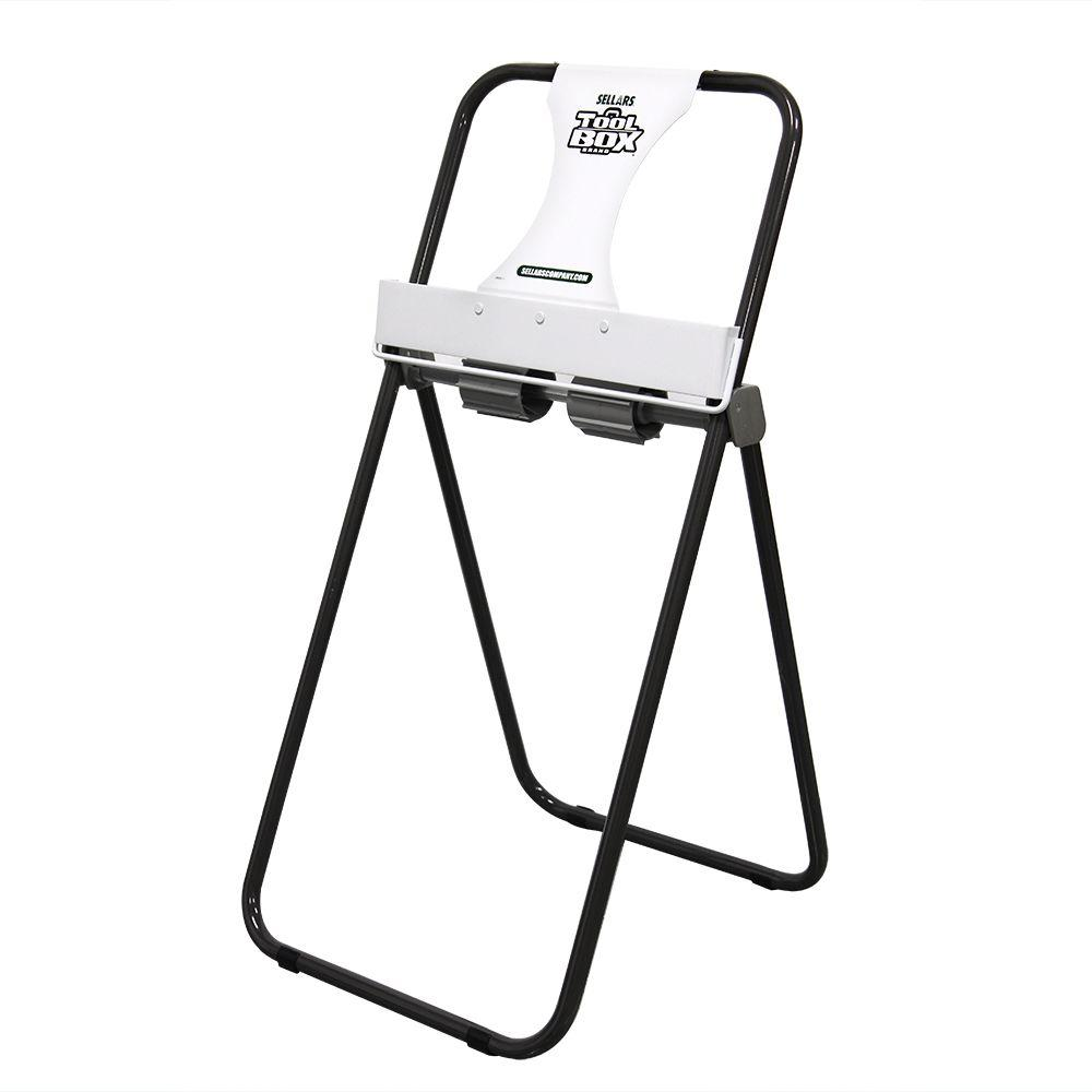 TOOLBOX 16 in. x 9.26 in. Jumbo Roll Floor Stand Dispense...