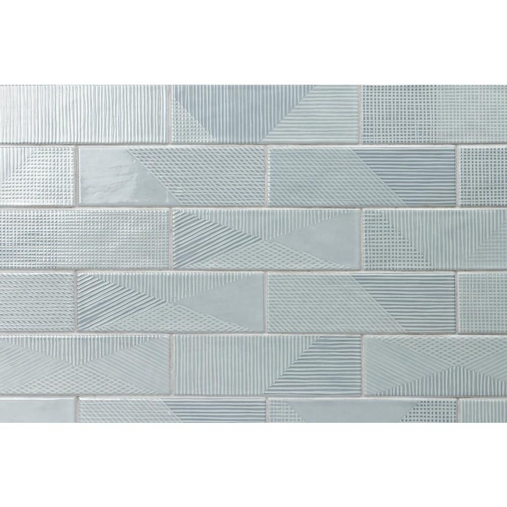 - Ivy Hill Tile Ace Blue 2 In. X 8 In. X 9 Mm Polished Ceramic