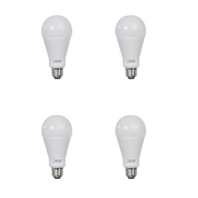 300-Watt Equivalent A23 ENERGY STAR LED Bright Light Bulb in Warm White (3000K) (4-Pack)