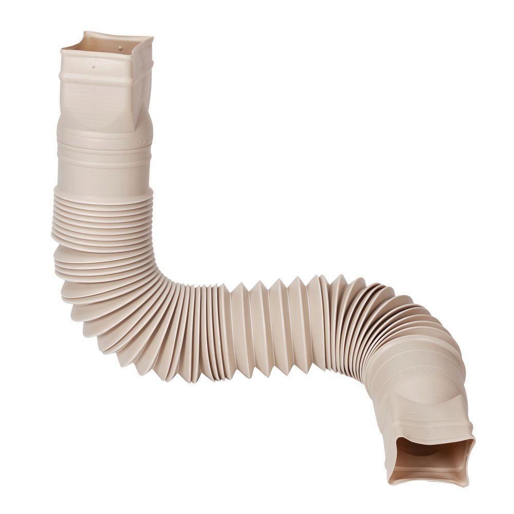 Stone Downspout Extension Plastic Extender Flexible