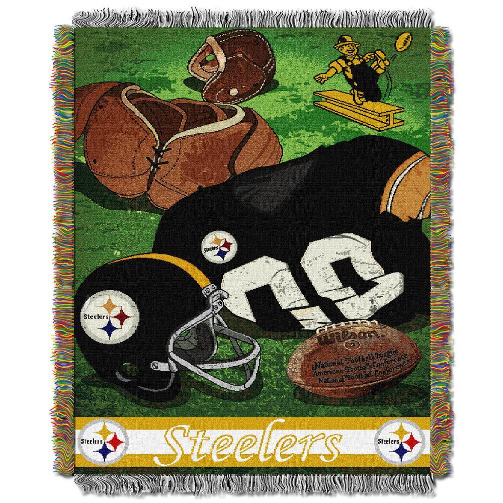 3b6a98d798c Steelers Multi-Color Tapestry Vintage-1NFL051020078RET - The Home Depot