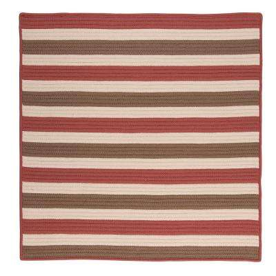 Red - Square 1\'-6\' - Outdoor Rugs - Rugs - The Home Depot