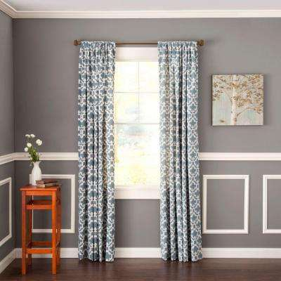 shop cambria inch set industrial curtain bronze curtains rod on oil deals rubbed single in