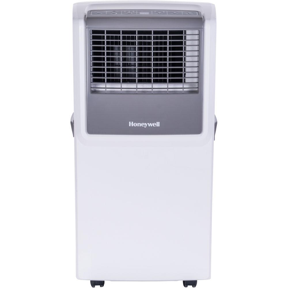 Honeywell Honeywell 8,000 BTU Portable Air Conditioner with Dehumidifier, Front Grille and Remote Control - White/Grey