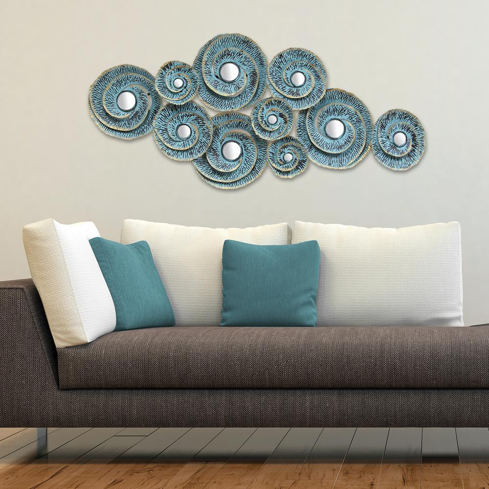 Stratton Home Decor Stratton Home Decor Decorative Waves Metal Wall