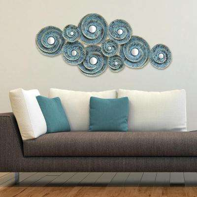Stratton Home Decor Decorative Waves Metal Wall Decor