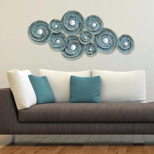 Stratton Home Decor Stratton Home Decor Decorative Waves Metal Wall Decor by Stratton Home Decor