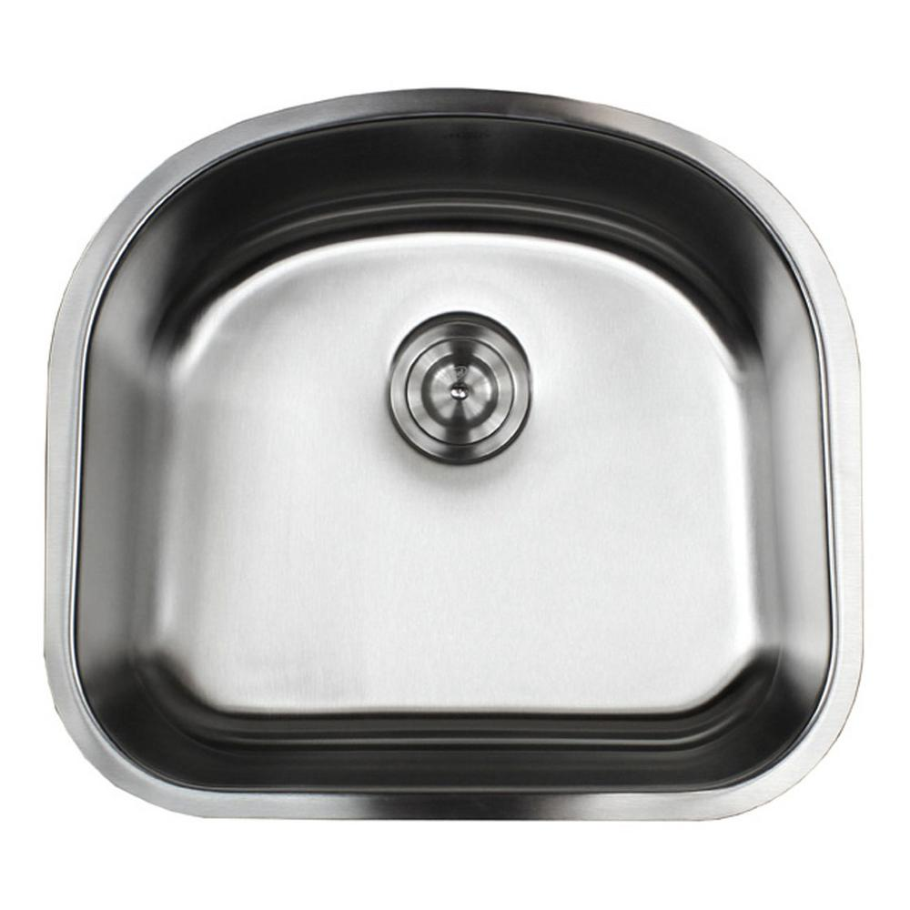 eModernDecor Undermount 16-Gauge Stainless Steel 23-1/4 in. x 20-7/8 on lowes kitchen sinks, stainless steel kitchen sinks, single bowl kitchen sinks, granite kitchen sinks, ceramic kitchen sinks, undermount sinks 60 40, solid surface kitchen sinks, stone sinks, smart divide kitchen sinks, overmount kitchen sinks, black kitchen sinks, farm kitchen sinks, antique kitchen sinks, elkay sinks, swanstone kitchen sinks, kohler kitchen sinks, american standard kitchen sinks, home depot undermount sinks, inset kitchen sinks, farmhouse kitchen sinks,