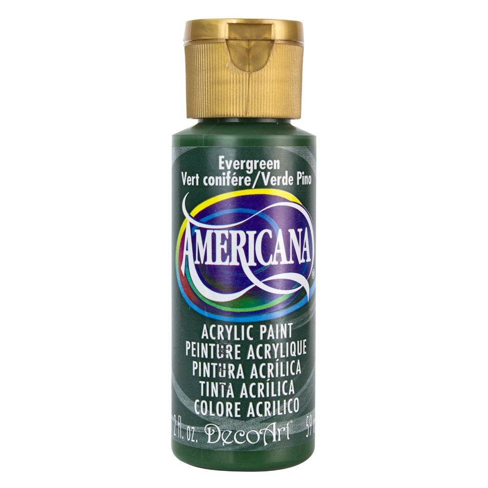 Americana 2 oz. Evergreen Acrylic Paint