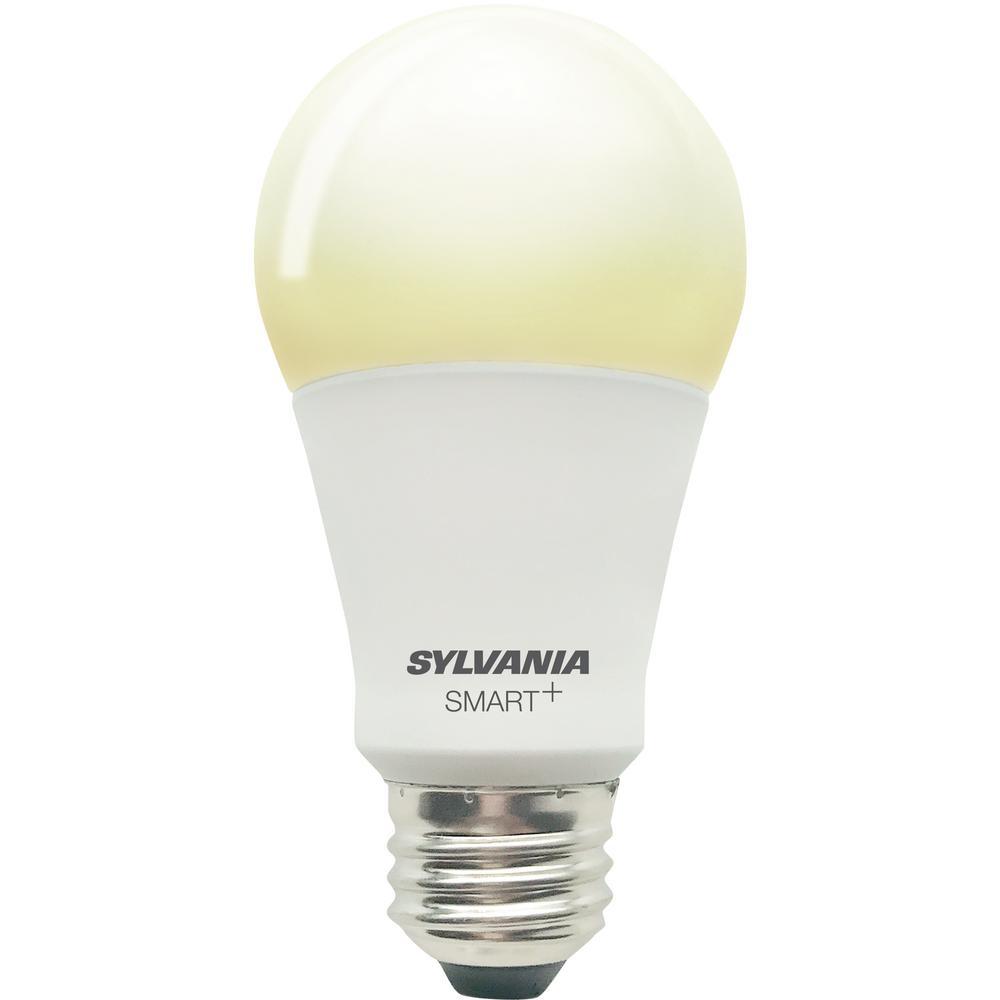 SMART+ Bluetooth 60-Watt Equivalent Soft White Dimmable A19 LED Light Bulb
