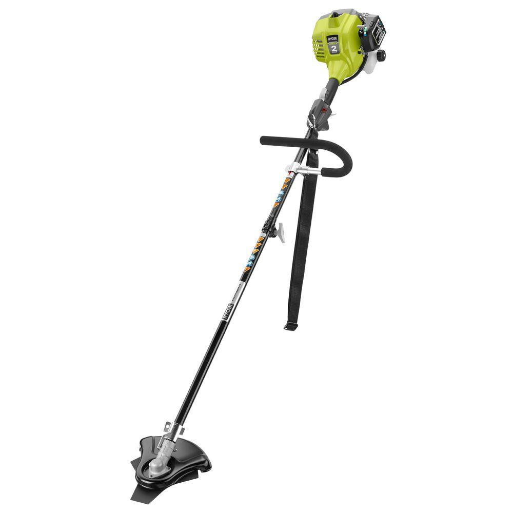 Ryobi 25cc 2 Cycle Full Crank Gas Brush Cutter Ry254bc The Home Depot