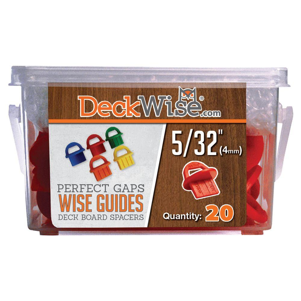 DeckWise WiseGuides 5/32 in. Gap Deck Board Spacer for Hidden Deck Fasteners (20-Count)