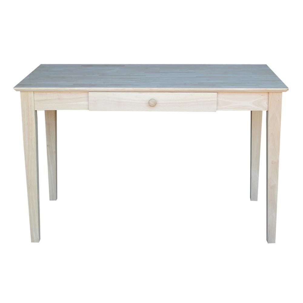International Concepts Unfinished Desk