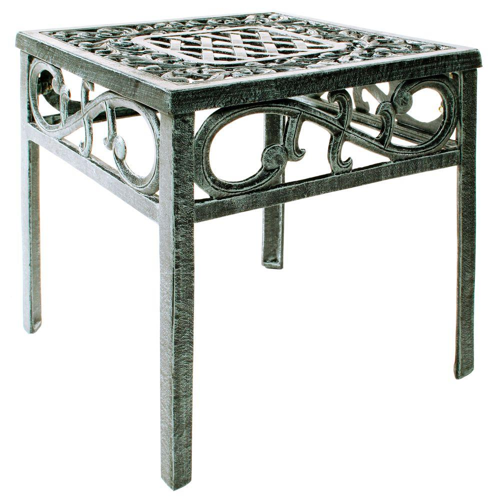 Oakland Living Mississippi Patio End Table 2106 Vg The