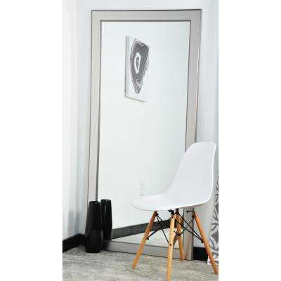 Silver Elements 32 in. x 65.5 in. Tall Mirror