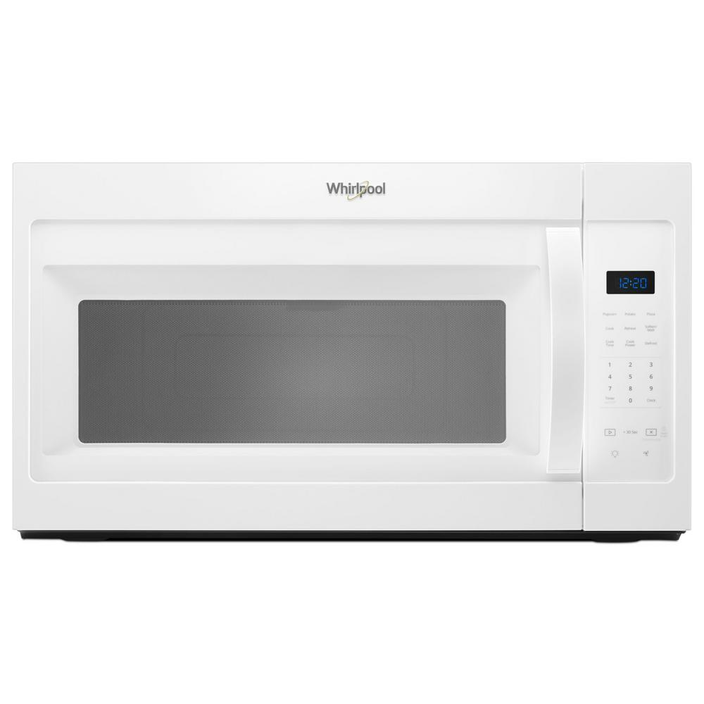 Whirlpool 1.7-Cu Ft Over-The-Range Microwave (White) (Common: 30-In; A