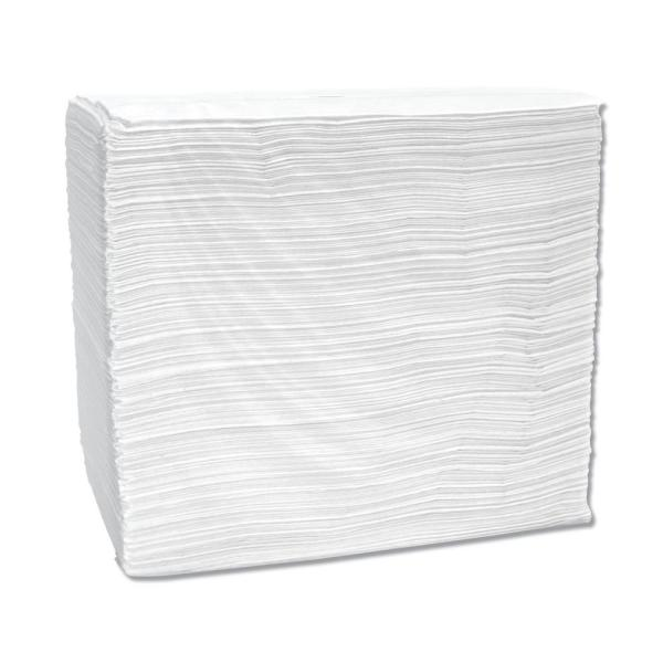 Signature Airlaid Dinner Napkins/Guest Hand Towels, 12 in. x 16 3/4 in., White, 500/CT