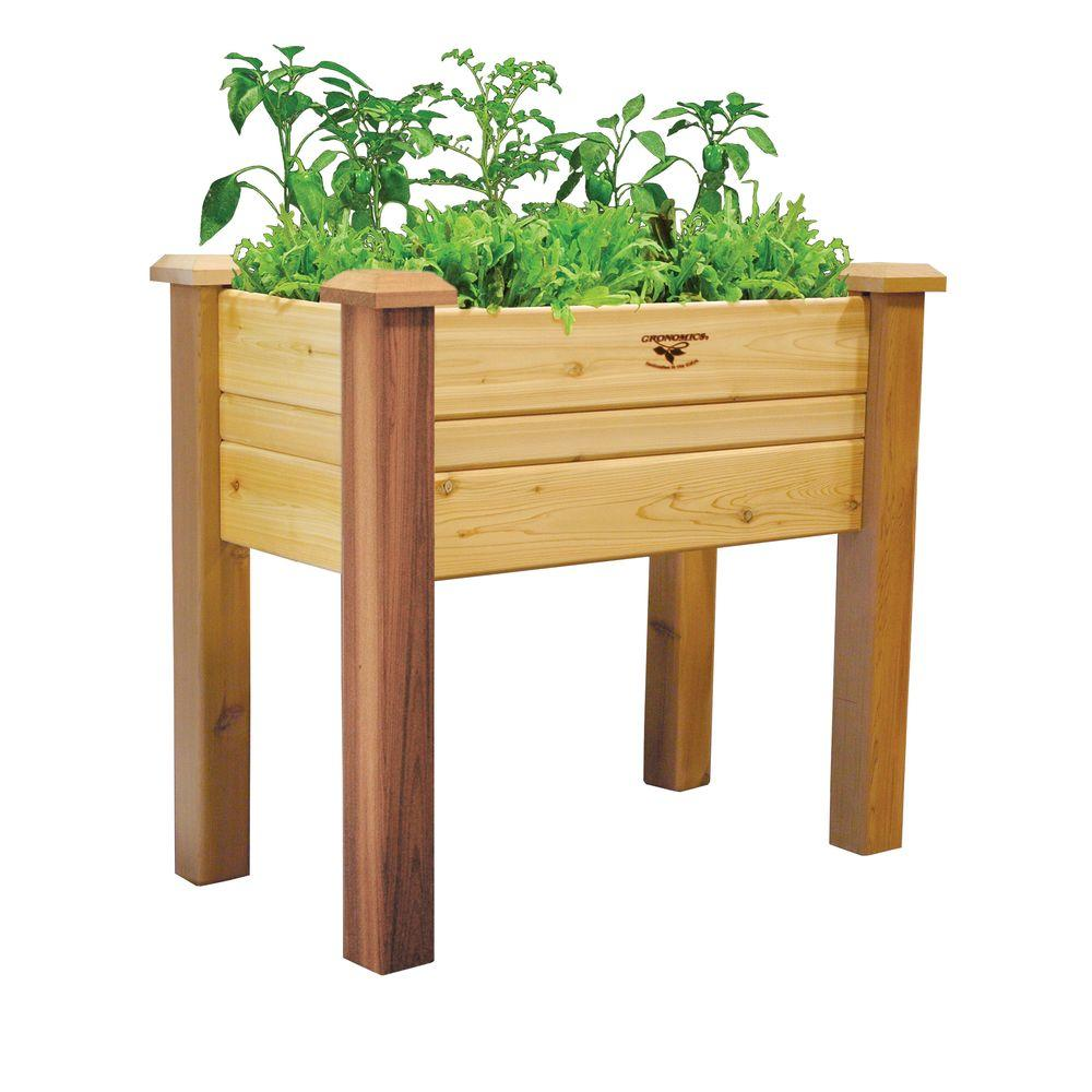 Gronomics 18 In. X 34 In. X 32 In. Elevated Garden Bed