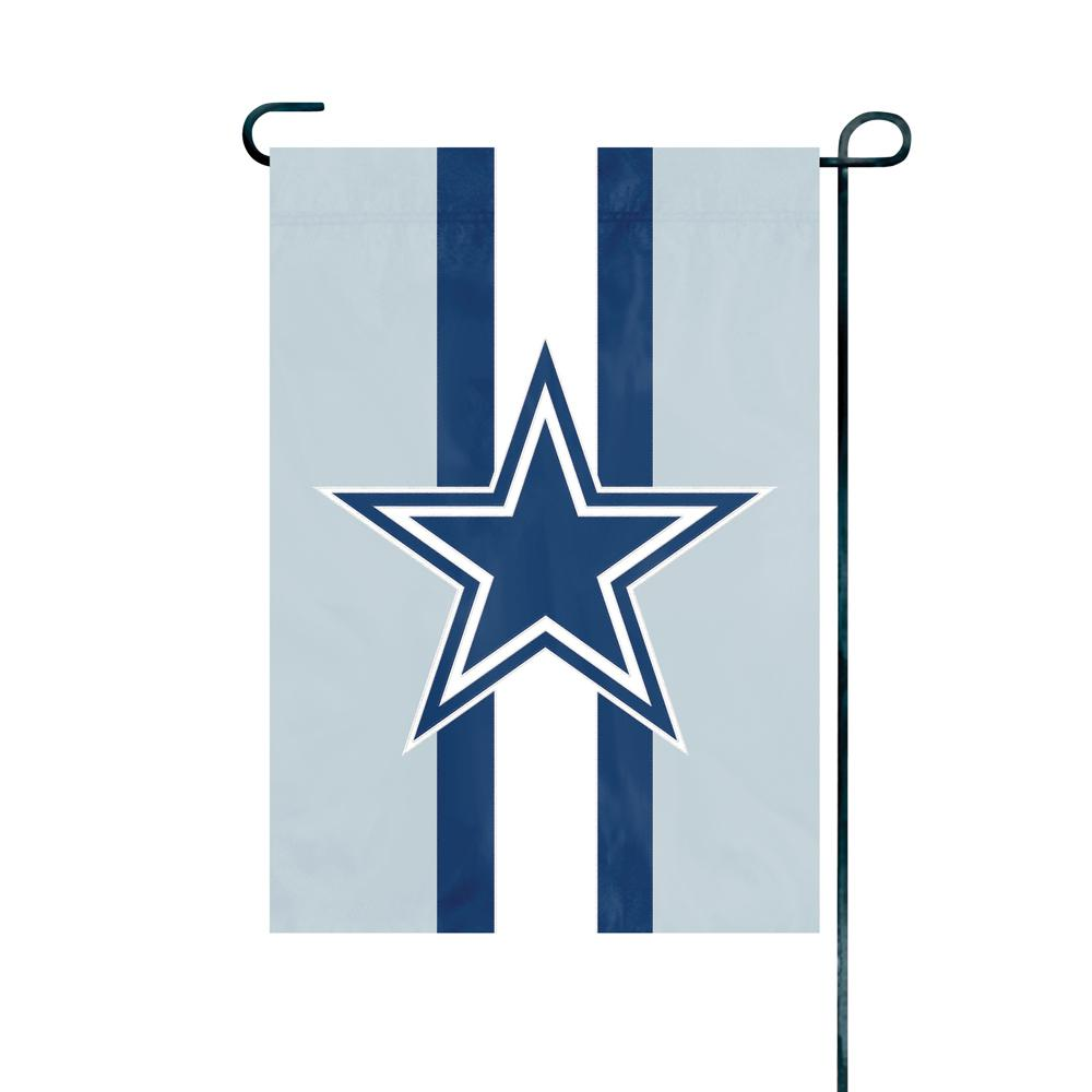 Genial Party Animal, Inc. Dallas Cowboys Premium Garden Flag