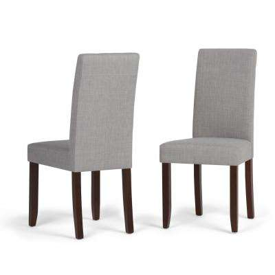 Acadian Dove Grey Parsons Dining Chair (Set of 2)