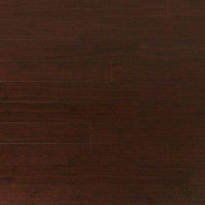 Take Home Sample - Scraped Maple Coffee Engineered Click Hardwood Flooring - 5 in. x 7 in.