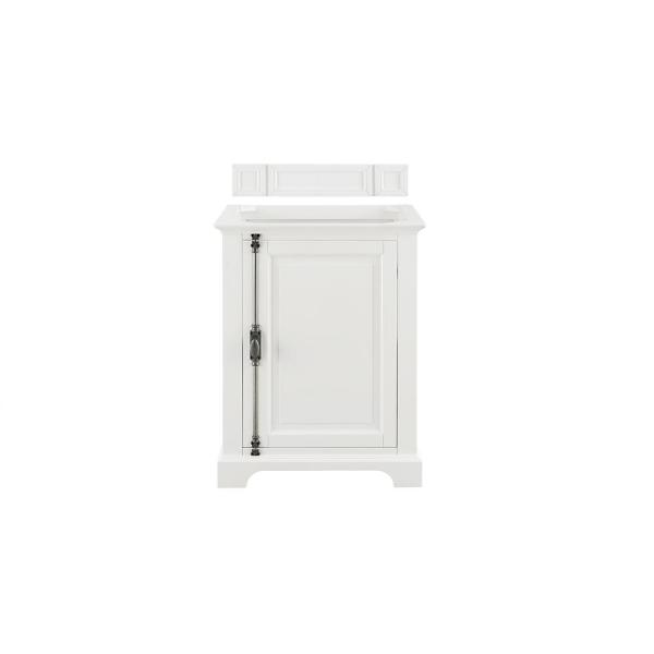 Providence 26 in. W x 19.75 in. D Single Bath Vanity Cabinet Only in Cottage White