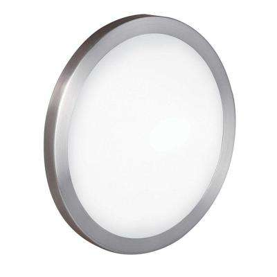 Arezzo 1-Light Matte Nickel Wall/Ceiling Light