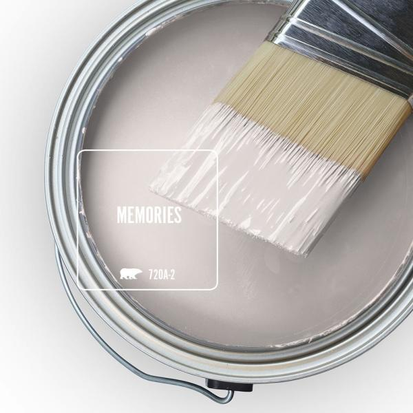 Reviews For Behr Ultra 5 Gal 720a 2 Memories Extra Durable Semi Gloss Enamel Interior Paint And Primer In One 375005 The Home Depot