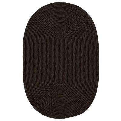 Trends Mink 2 ft. x 4 ft. Braided Oval Area Rug