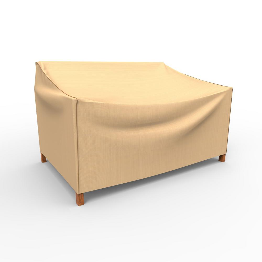 Budge Chelsea Patio Small Loveseat Covers-P3A03TN1