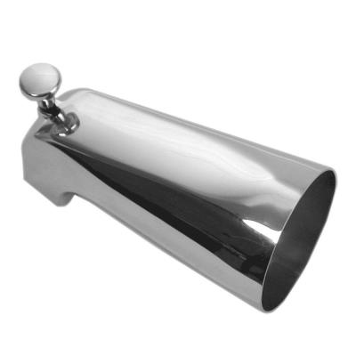5 in. Bathroom Tub Spout with Front Diverter, Chrome