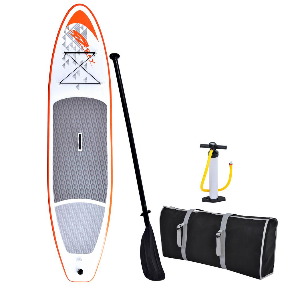11 ft.Stingray Inflatable Stand Up Paddleboard with Hand Pump