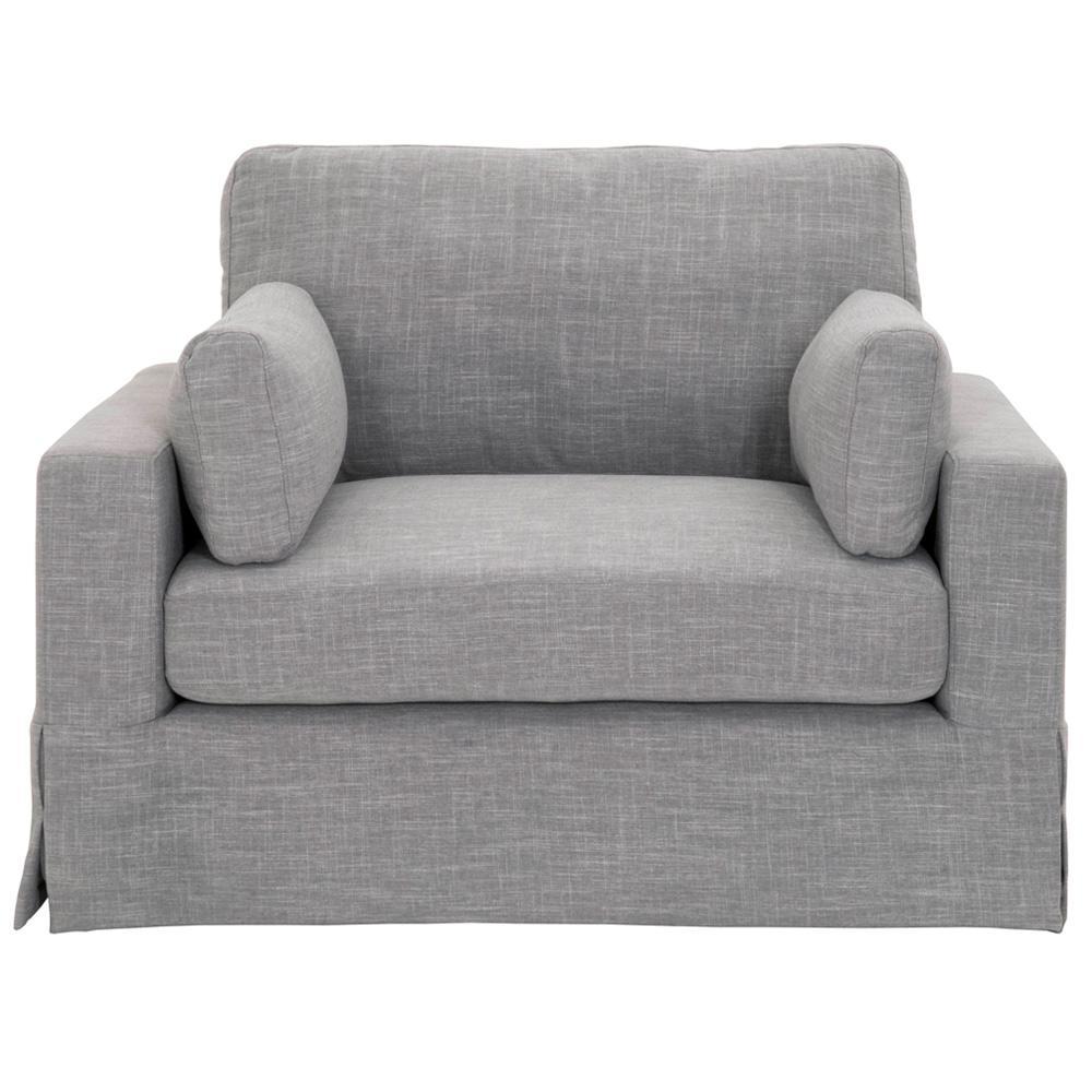 Addilyn Linen Smoke Arm Chair