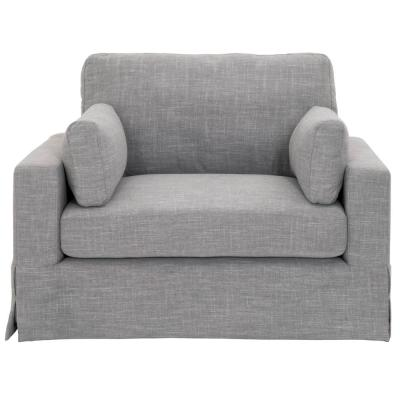 Addilyn Linen Smoke Arm Chair